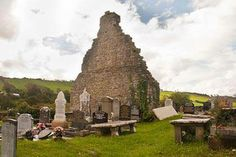 1300 year old medieval monastery ~ Donegal, Ireland