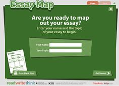 Educational Technology and Mobile Learning: Essay Map-A Handy Interactive Graphic Organizer to Help Students with Essay Writing