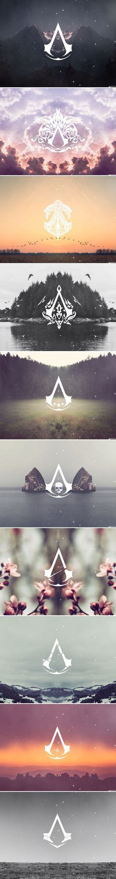 Assassin's Creed Logos: