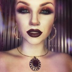 Mykie aka Glam and Gore youtuber. This girl is everything! Such a talented artist and I love her personality