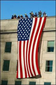 Flag over Pentagon