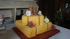 Western Bridal Shower Food | Country Bridal Shower Cake - by laurieann @ CakesDecor.com - cake ...
