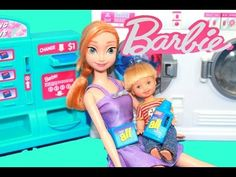 Play-Doh Frozen Parody Barbie Broken Washing Machine Disney Princess Anna Playdough AllToyCollector