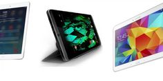 iPad Air 2 vs Nvidia Shield Tablet vs Galaxy Tab 4 10.1: specs and prices compared