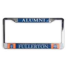Chrome Alumni License Frame