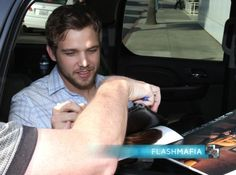 Max Thieriot at the Paley Center For Media on April 1, 2015.