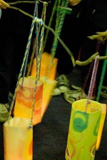 lanterns-we had one of these, for many years, that my son made at his Waldorf school.