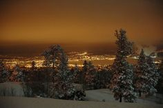Sundsvall, Sweden, at night - you know i want to go here, right?