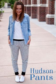 DIY Pants Sewing Pattern | Get inspired to make your own clothes at http://www.sewinlove.com.au/category/fashion/