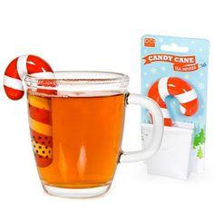 Candy Cane Tea Infuser   Stupid.com