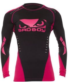 Bad Boy Womens Sphere Compression L/S Rashguard