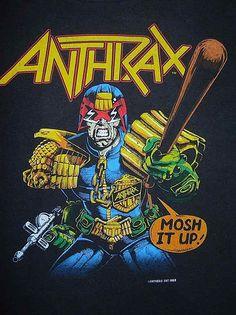 1988 Anthrax t-shirt