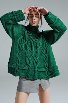 Chunky knit with lovely details