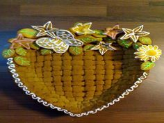 Gingerbread basket, how-to