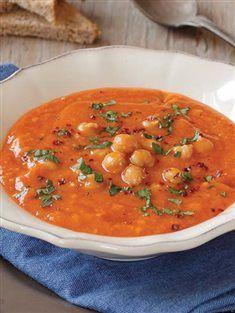Nohutlu tarhana çorbası