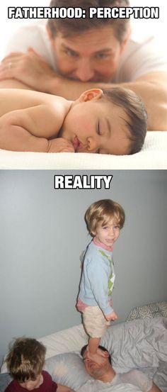 Fatherhood: Perception Vs. Reality
