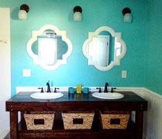 Bathroom colors #CroscillSocial