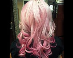 love the pink ombre!