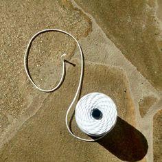 Pavio de algodão - DIY primeira viagem: Velas de cera abelha - Depósito Drops
