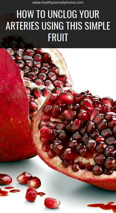 How To Unclog Your Arteries Using This Simple Fruit – Healthy Remedy Home Daily Health Tips, Natural Health Tips, Health And Fitness Tips, Health And Wellness, Wellness Tips, Natural Herbs, Herbal Medicine, Eating Habits, Health Remedies
