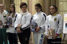 Premiazione #Sciabola Femminile - 1° Trofeo di Sciabola femminile #Changhong - Società del Giardino Milano.