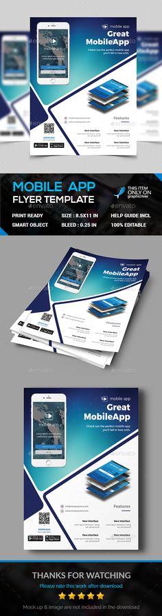 #App Flyer - Commerce Flyers Download here: https://graphicriver.net/item/app-flyer/17238105?ref=alena994