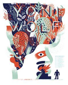 ANDY J. MILLER — YONI WOLF SCREEN PRINT