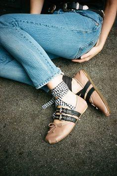 This Year's Best Shoe Goes To… #miumiu ballerina flats