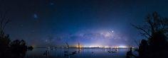 Milky Way over Mulwala Lake