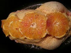 Anatra all'Arancia per Natale