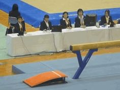 "thedrunkninja: ""Underrated Gymnastics Moments 5/?: Natsumi Sasada doing an amazing layout full beam mount. """