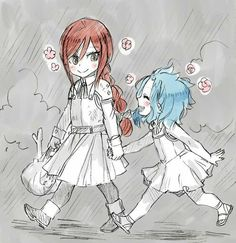 Erza and Levy Fairy tail