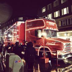 Christmas Coca cola truck