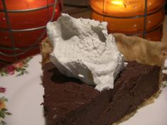 This pie is so rich. It is so quick and easy. It is also enjoyed quick and easy. You must try this for your next Chocolate Pie. I HAVE to make it EVERY Thanksgiving, especially for son Kevin and son-in-law Dwain. My sister-in-law, Sherry, entered it in their 1996 church cookbook, Give Us This Day Our Daily Bread, Wise County, Texas.