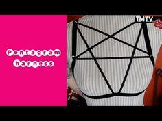 ▶ DIY - pentagram harness - YouTube