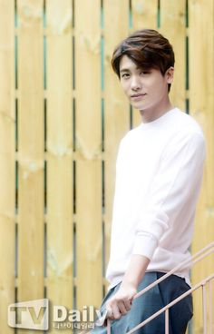 Park Hyungsik's photoshoot taken for his post interview.