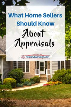 What is a home appraisal and why is it important? As a home seller, it's crucial to understand what goes into the appraisal process, and what to do if it's lower than your asking price. Dusty House, Home Appraisal, Home Selling Tips, Simple Furniture, Moving Tips, Real Estate Tips, Real Estate Investing, Home Staging, Bars For Home
