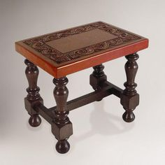 One of my favorite discoveries at WorldMarket.com: Inca Cedar and Leather Table #WorldMarket Fall Refresh PIN IT Contest