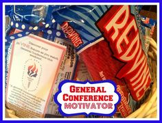 Young Womens General Conference Motivators and Handouts. From Marci Coombs Blog