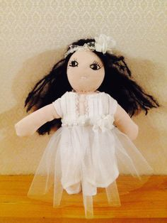 Alice -Spring Fairy Waldorf Doll by LittleDollsBySzandra on Etsy
