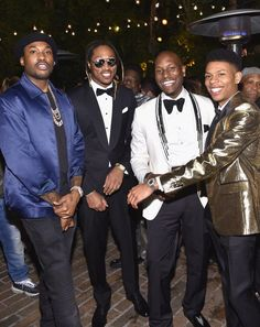 Pin for Later: Some of Hollywood's Hottest Gather For the GQ Men of the Year Party