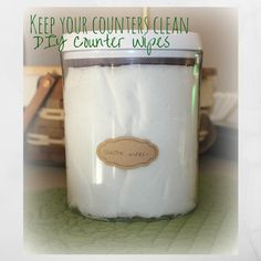 We've been focusing on gifts to make for others, but how about making your life a little simpler? I love the ease of pre-made counter wipes. However, I hate the cost, the man-made che...