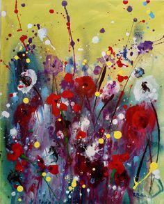 Floral — Rine Philbin Art Watercolour, oils and acrylic paintings Lilac Flowers, Red Roses, Bird Artists, Irish Landscape, Irish Art, Acrylic Art, Pet Birds, Art For Sale, Watercolor Art