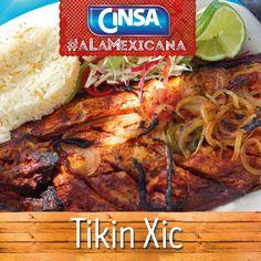 #Cinsa #CinsaALaMexicana #Recetas #Mexicanas #RecetasMexicanas #México #Comida #ComidaMexicana #peltre #MarcasMexicanas #TikinXic #Yucatán