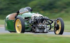 Vintage Morgan trike