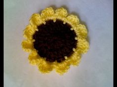Lakeview Cottage Kids: New FREE Pattern -- Crochet Sunflower