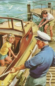 Boat Pier - Peter And Jane, We Like To Help.