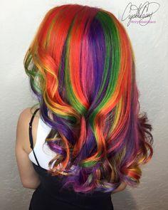Rainbow Hair ❤️
