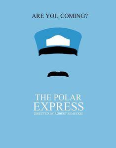 The Polar Express #Minimalist #Poster