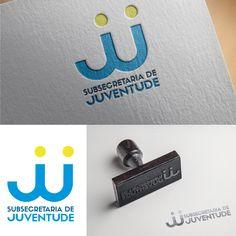 Identidade visual criada para a Secretaria de Juventude da Prefeitura de Lorena.